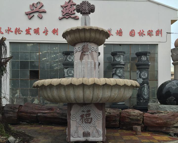 景观石雕喷泉