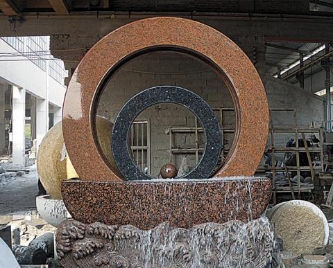 实用石雕风水轮