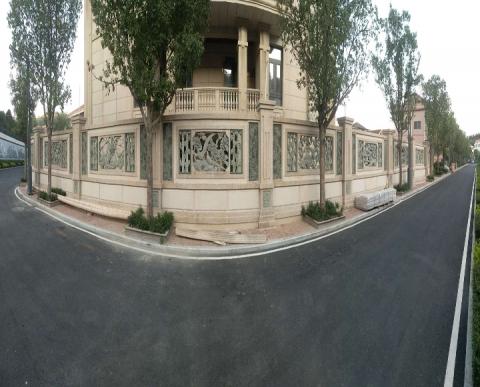 别墅石材幕墙