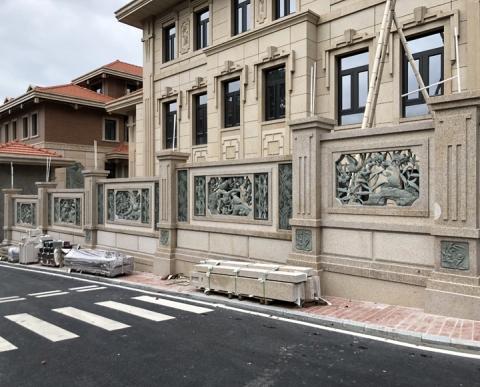 别墅石雕雕刻