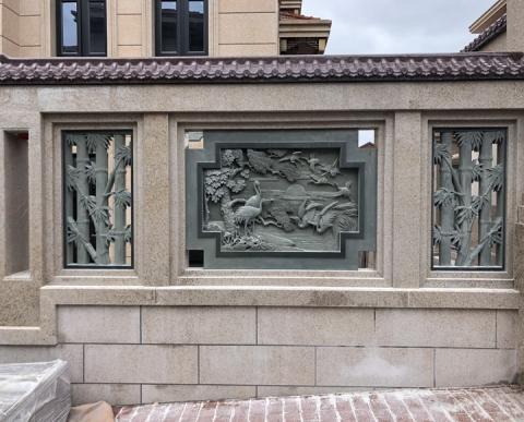 围栏装饰浮雕