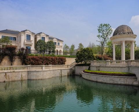杭州东晖别墅外墙石材幕墙